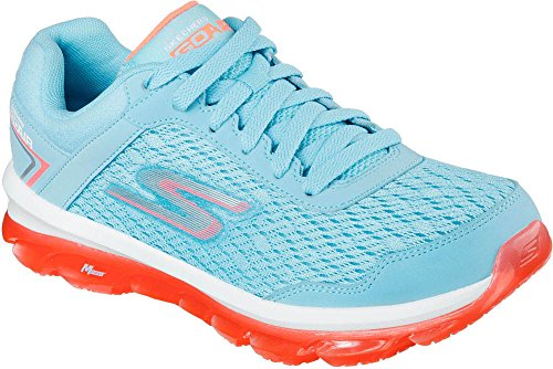 Skechers Go Air, Baskets Basses Femme Bleu