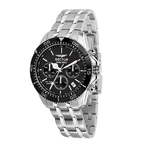 SECTOR NO LIMITS Orologio Cronografo Quarzo Uomo con Cinturino in Acciaio Inox R3273962002