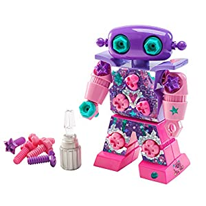 Learning Resources- Robot con Brillos Sparklebot de Design & Drill, Color (EI-4126)