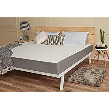 Wakefit Orthopaedic Memory Foam Mattress, King Bed Size (72*72*8)