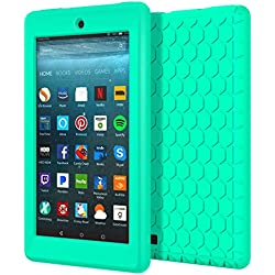 Funda de silicona para Kindle Fire 7 (2017) (Varios colores)
