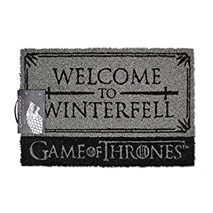 1art1 Juego De Tronos - Welcome To Winterfell Felpudo Alfombra (60 x 40cm) 3