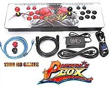 Theoutlettablet@ - Pandora Box 6s 1388 Retro Videospielkonsole Arcade Video Gamepad VGA/HDMI / USB -