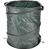 Multifunktionstonne für den Garten, Fassungsvermögen von 160 Liter, 55x68 cm: Gartensack Garten Müll Sack Laubsack Gewebesack Gartentasche Rasensack