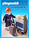 PLAYMOBIL 9151 - Stewardess AIR France