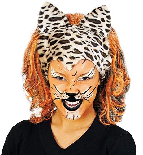 Perücke Katze Tiger Leopard Cats tiger/tizian - Wild Zebra Für Erwachsenen Tier Kostüm