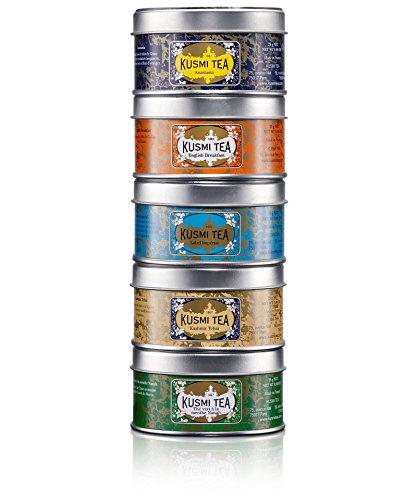 Kusmi Tea Geschenkset Miniaturen Brunch-Tees (Marokko-minze-grüner Tee)