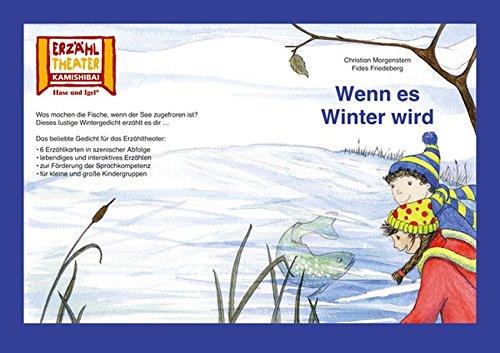 Kamishibai: Wenn es Winter wird: 6 Bildkarten für das Erzähltheater