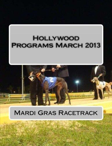 Hollywood Programs March 2013 por Mardi Gras Racetrack