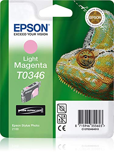 C13T03464020 - INK CARTRIDGE LIGHT Tintenpatrone UltraChrome Light Magenta T0346 für Epson Stylus Photo 2100