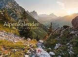 Ackermanns Alpenkalender 2020, Wandkalender im Querformat (45x33 cm) - Landschaftskalender / Naturkalender mit Monatskalendarium - Ackermann Kunstverlag