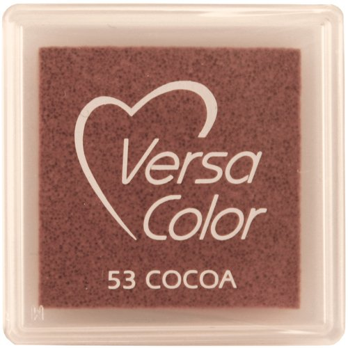 ToyCentre 'VersaColor Pigment Inkpad 1cubo-cacao -