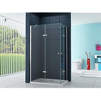 cabine paroi douche 80x100 h200 transparent 6mm mod. Black Bedroom Furniture Sets. Home Design Ideas