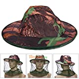 #8: Alcoa Prime Outdoor Camouflage Mosquito Net Fishing Hat Bee keeping Insects Prevention Cap