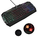 AURSEN Wired Beleuchtete Gaming Keyboard