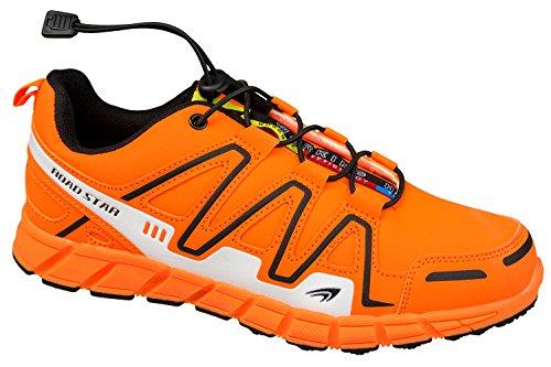 GIBRA® Sportschuhe, sehr leicht und bequem, neonorange, Gr. 36-41 Neonorange
