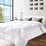 BedStory Bettdecke 135 X 200cm, 4 Jahreszeiten Bettdecke aus 100% Mikrofaser 1400g Füllung, Öko Tex Standard Pflegeleicht und Maschinenfest Antiallergisch für Allergiker