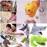 TAOtTAO Küche Badezimmer Ente Wasserhahn Extender Waschbecken Griff Extender Kind Waschen Leicht