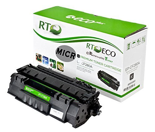 Renewable Toner Evolve HP CF280A (80A) MICR Toner Cartridge compatible with HP LaserJet Pro 400 Printers: M401 M401n M401dn M401dw M401dne M425dn  available at amazon for Rs.12199