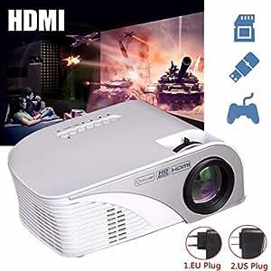ELEGIANT Mini HD Beamer 1200 lumens LED Beamer Mini HD