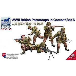 Unbekannt Bronco Models cb35130-Maqueta de WWII British Parat roops en Combat Set A