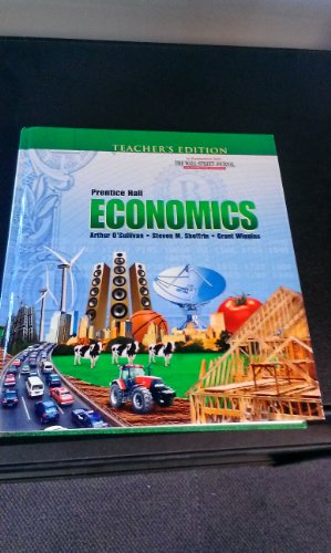 Economics - Teacher's Edition - Prentice Hall