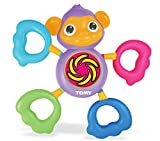 TOMY Toomies Grip and Grab Musical Monkey - Baby and Toddler Sound Toy - Suitable From 6 Months