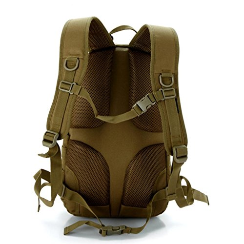 25LPractical taktischen Paket militärischen molaren Angriff Tasche 600D Outdoor Sport taktischen Military Assault Bag Rucksack Daypack city number