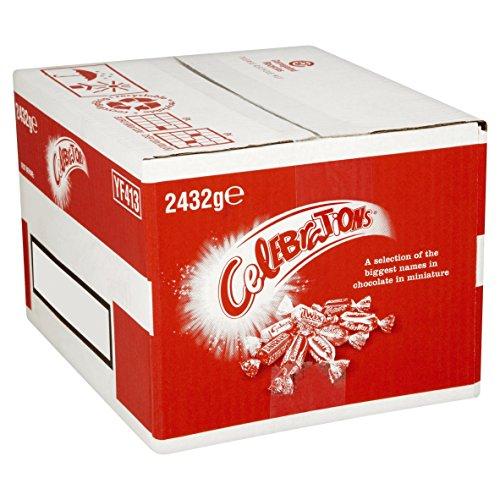 Celebrations Chocolate Bulk Case, 2.432 kg