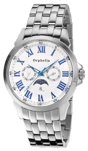 Orphelia OR22770588 - Reloj de pulsera para hombres, color plata