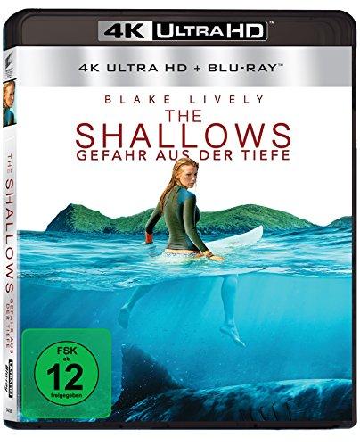 The Shallows - Gefahr aus der Tiefe (4K UHD BD-2) [Blu-ray]