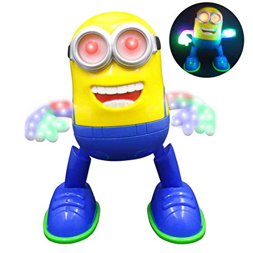 Minion Singing / Dancing Battery Operated Musical Flash Light toy(Multicolor)