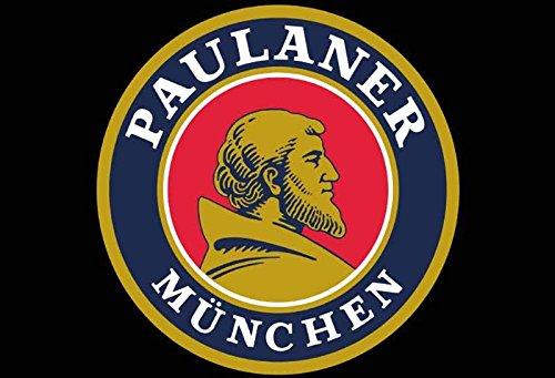 Schatzmix Paulaner München Logo blechschild