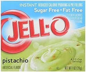 Jello Sugar Free Fat Free Pistachio instant pudding 28g 1oz