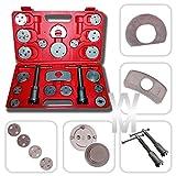 Todeco - Caja con herramientas para reponer pinzas de freno (21 herramientas)