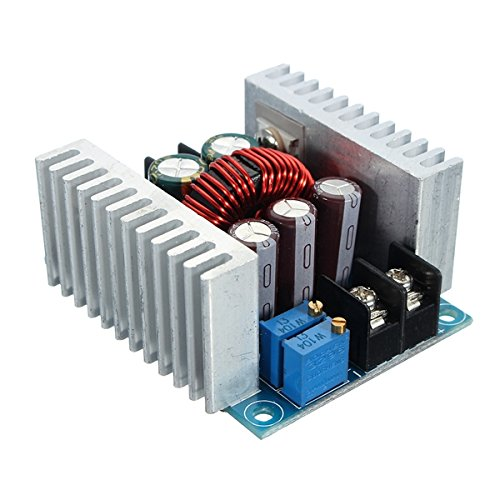 ROUHO Dc 6-40V Bis 1.2-36V 300W 20A Constant Current Adjustable Buck Converter Step Down Module Board