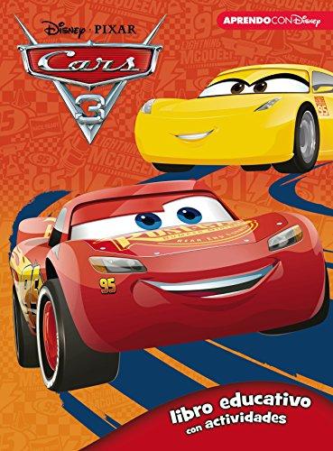 Cars 3 (Libro educativo Disney con actividades) por Disney