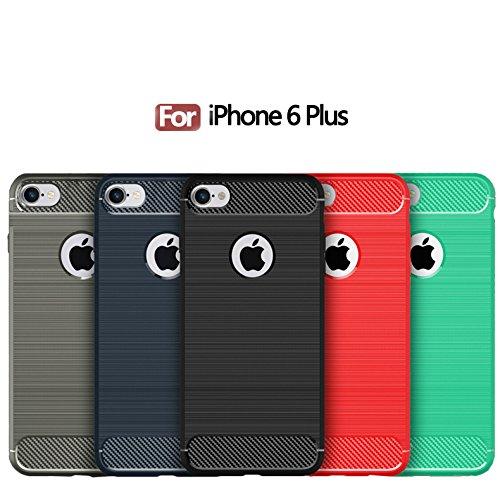 Cover iPhone 6 Plus iPhone 6sPlus, Sportfun morbido protettiva TPU Custodia Case in silicone per iPhone 6Plus iPhone 6sPlus (02) 01