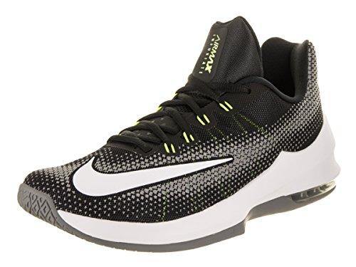 Herren grau Air Nike Max weiß Infuriate schwarz Low Basketballschuhe gelb 1qgPFOqwx