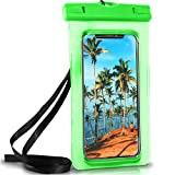 ONEFLOW Wasserdichte Hülle iPhone   Full Cover in Grün 360° Unterwasser-Gehäuse Touch Schutzhülle Handy-Hülle für Apple iPhone X XS XS Max 8 7 7Plus/8Plus 6S 6 Plus 5 5S XR Case Handy-Schutz
