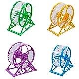 New Hamster Maus Kleine Übung Spielzeug Running Spinner Sport Jogging Rad