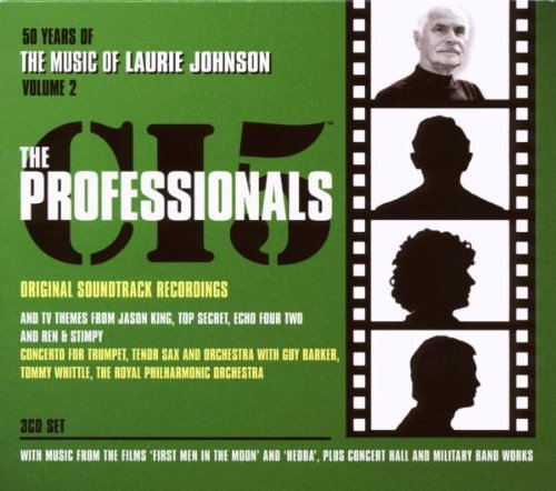 Preisvergleich Produktbild Music of Laurie Johnson-Vol.2 the Professionals