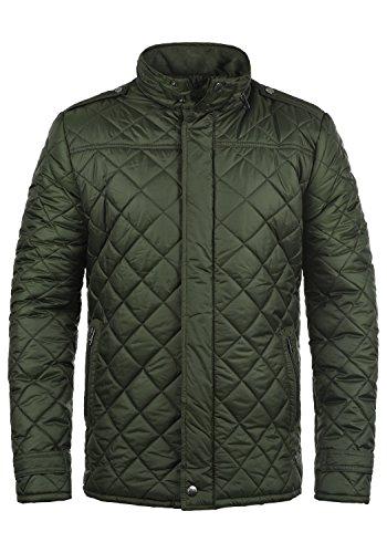 !Solid Safi Herren Steppjacke Übergangsjacke Jacke gefüttert mit Stehkragen, Größe:S, Farbe:Rosin (3400)