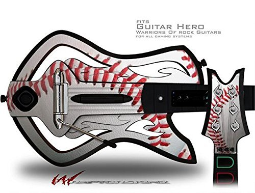 Baseball Decal Style Skin - fits Warriors Of Rock Guitar Hero Guitar (GUITAR NOT INCLUDED) by - Xbox Baseball-spiele, 360