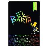 1 Cahier de textes Bart Simpsons couverture rigide