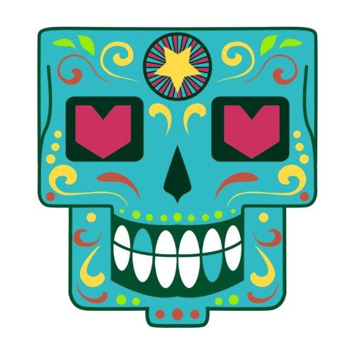 T-Shirt - Matey Skull 35 - Totenkopf - Sugar Skull - Herren - unisex Weiß