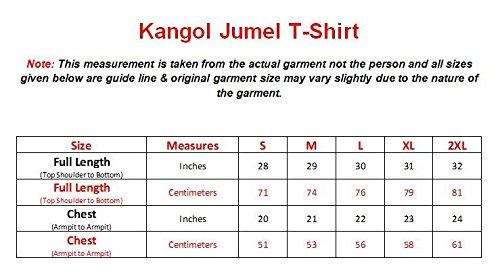 Neue Männer Kangol 100% Baumwolle V-Ausschnitt Button Ribbed Qualität Kurzarm T-Shirt Top Navy