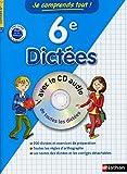 Image de Je comprends tout Dictées 6e avec CD