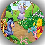 Fondant Tortenaufleger Tortenbild Geburtstag Winnie Pooh T4
