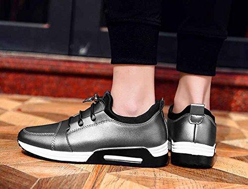 Hommes Chaussures D'athlétisme En Plein Air 2018 Printemps Nouveau Respirant Souliers Occasionnels Chaussures De Fitness Légères Argent